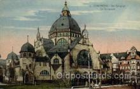 jud001402 - Dortmund - La Synagogue, Judaic Judaica, Postcard Postcards