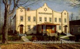 jud001403 - My Pre School - Monticello NY Synagogue, Judaic Judaica, Postcard Postcards