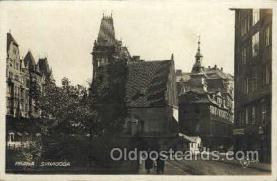 jud001405 - Praha - Synagoga, Judaic Judaica, Postcard Postcards