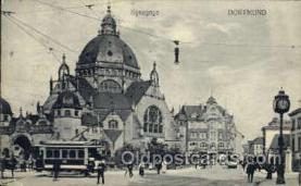 jud001407 - Dortmund Synagoge, Judaic Judaica, Postcard Postcards