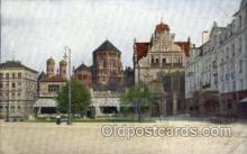 jud001409 - Munchen Synagogue, Judaic Judaica, Postcard Postcards