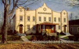 jud001410 - My Pre School - Monticello NY Synagogue, Judaic Judaica, Postcard Postcards
