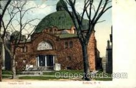jud001412 - Temple Beth Zion, Buffalo, NY USA, Judaic Judaica, Postcard Postcards
