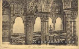 jud001418 - France, Interior dune Maison Juive au Mellah Judaic, Judaica Postcard Postcards