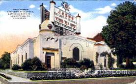 jud001419 - First Hebrew Christian Synagogue, LA California, USA Judaic, Judaica Postcard Postcards