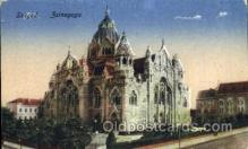 jud001423 - Szeged Sinagoga Judaic, Judaica Postcard Postcards