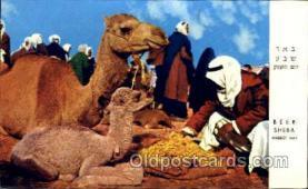 jud001440 - Be'er Sheba, Market Day Judaic, Judaica Postcard Postcards