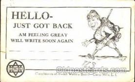 jud001456 - Jewish Welfare Board - Camp Mills, L.I.  Judaic, Judaica Postcard Postcards