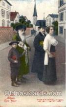 jud001464 - A Happy New Year Judaic, Judaica Postcard Postcards