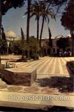 jud001467 - Acre El Jazzar's Mosque - Cortyard Judaic, Judaica Postcard Postcards