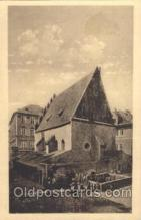 jud001519 - Staronova Synagogue Judaic, Judaica, Postcard Postcards