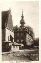 jud001520 - Staronova Synagogue Judaic, Judaica, Postcard Postcards