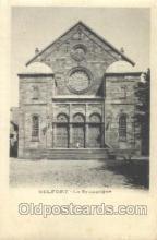 jud001528 - Belfort Synagogue Judaic, Judaica, Postcard Postcards