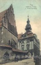 jud001529 - Prag, Altneu Synagogue Judaic, Judaica, Postcard Postcards