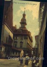 jud001530 - Prag, Altneu Synagogue Judaic, Judaica, Postcard Postcards