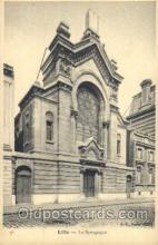 jud001533 - Lille Synagogue Judaic, Judaica, Postcard Postcards