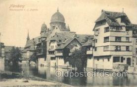 jud001543 - Nurnberg Judaic, Judaica, Postcard Postcards