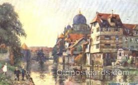 jud001544 - Nurnberg Judaic, Judaica, Postcard Postcards