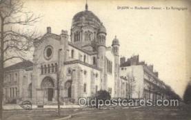 jud001550 - Dijon Synagogue Judaic, Judaica, Postcard Postcards