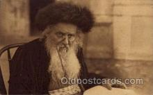 jud001600 - An Original Type of a Rabbi Judaic, Judaica Postcard Postcards
