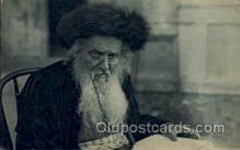 jud001604 - An Original Type of a Rabbi Judaic, Judaica Postcard Postcards
