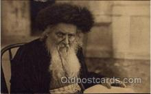 jud001606 - An Original Type of a Rabbi Judaic, Judaica Postcard Postcards