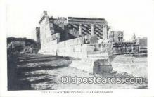 jud001653 - Ruins of the Synagogue Capernaum Postcard Post Cards Old Vintage Antique