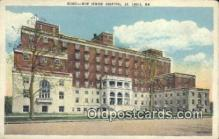 jud001659 - New Jewish Hospital St. Louis, MO, USA Postcard Post Cards Old Vintage Antique