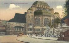 jud001661 - Synagoge Mit Jahrhundertbrunnen Essen Postcard Post Cards Old Vintage Antique