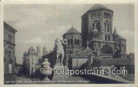 jud001662 - Blich Von Der Kunstlerhausterrasse Munchen Postcard Post Cards Old Vintage Antique