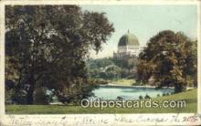 jud001668 - Central Park & Temple Beth-El New York, USA Postcard Post Cards Old Vintage Antique