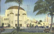 jud001672 - New Jewish Community Center Miami Beach, FL, USA Postcard Post Cards Old Vintage Antique