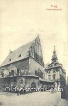 jud001677 - Altneu-Synagoge Prag Postcard Post Cards Old Vintage Antique