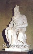 White Carrara Marble Firuge of Moses