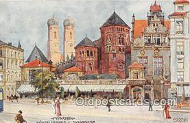 Munchen, Kunstlerhavs U Synagoge