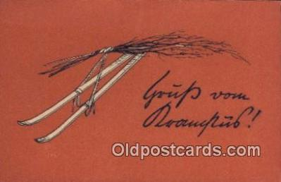 kra000323 - Krampus  Postcard Post Card, Carte Postale, Cartolina Postale, Tarjets Postal,  Old Vintage Antique