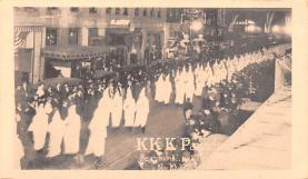 kkk000003 - Klu Klux Clan Postcard