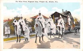 kkk000007 - Klu Klux Clan Postcard