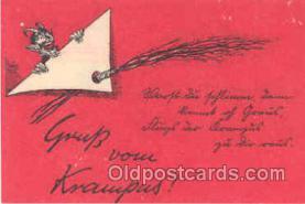 kra000015 - Krampus, Devil Postcard Postcards