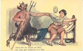 kra000051 - Krampus, Devil Postcard Postcards