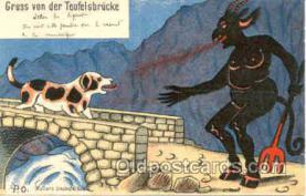 kra000058 - Krampus, Devil Postcard Postcards