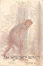 kra000059 - Krampus, Devil Postcard Postcards