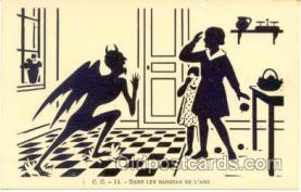 kra000064 - Krampus, Devil Postcard Postcards