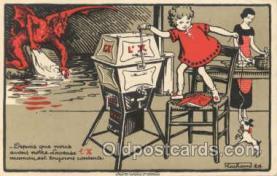 kra000075 - Krampus, Devil Postcard Postcards