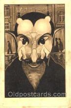 kra000108 - Metamorphic, Krampus, Devil, Postcard Postcards