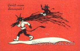 kra000121 - Krampus, Devil, Postcard Postcards