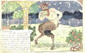 kra000133 - Krampus, Devil, Postcard Postcards