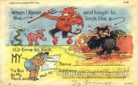 kra000158 - Krampus Postcard Postcards