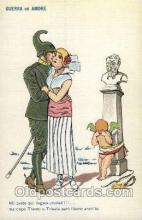 kra000223 - Guerra ed amore Devil, Krampus Postcard Postcards