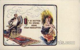 kra000225 - Puzzle Card, Philadelphia, USA Devil, Krampus Postcard Postcards